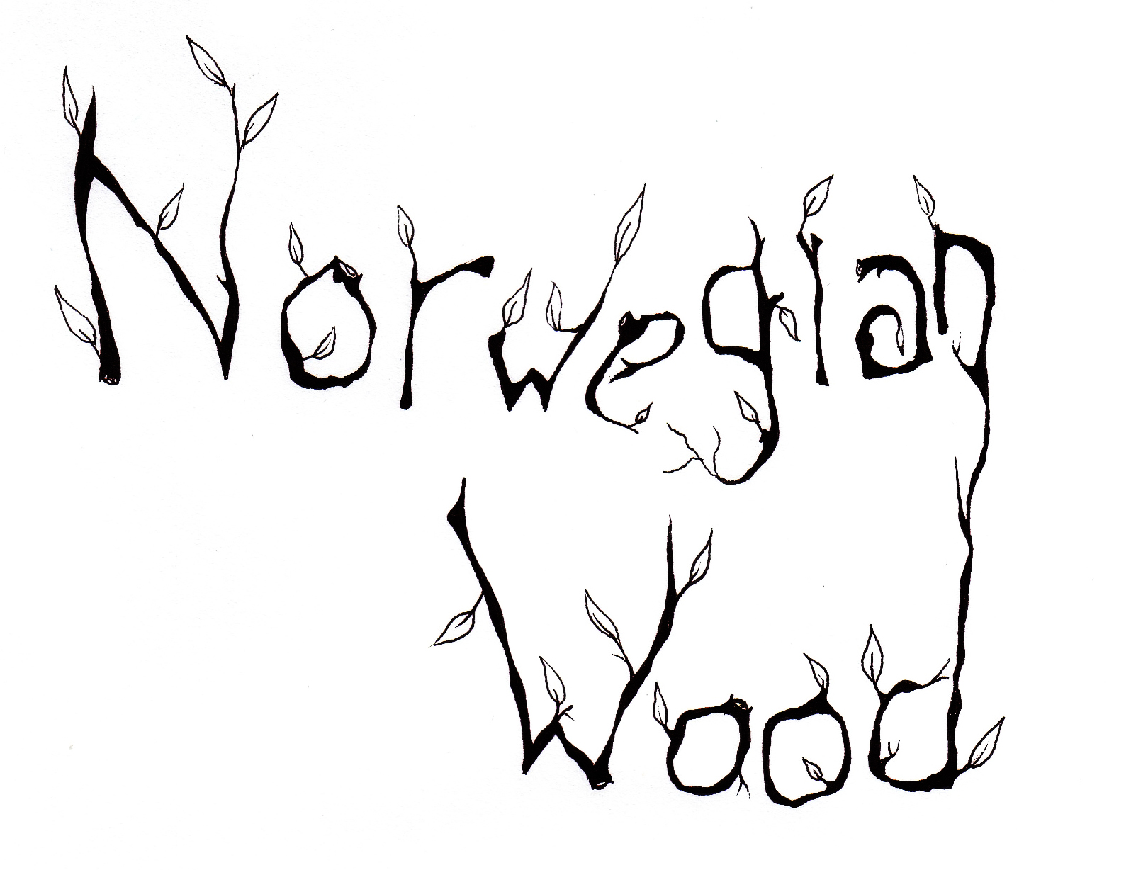 The 60s Psychedelic Experiment Norwegian Wood By Beatles