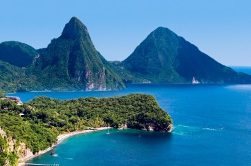 St.-Lucia-Pitons