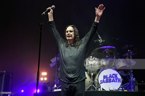 of Black Sabbath perform onstage at Nikon at Jones Beach Theater on August 18, 2016 in Wantagh, New York.